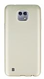 LG X cam Mat Gold Silikon Kılıf