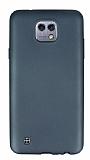 LG X cam Mat Dark Silver Silikon Kılıf