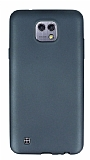 Eiroo Ultra Thin LG X cam Dark Silver Silikon Kılıf