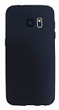 Samsung Galaxy S7 Mat Siyah Silikon Kılıf