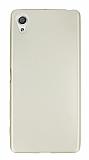 Sony Xperia X Mat Gold Silikon Kılıf