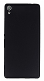Sony Xperia XA Ultra Mat Siyah Silikon Kılıf