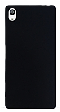 Sony Xperia Z5 Premium Mat Siyah Silikon Kılıf