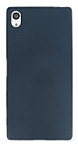Sony Xperia Z5 Premium Mat Dark Silver Silikon Kılıf