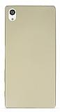 Sony Xperia Z5 Premium Mat Gold Silikon Kılıf