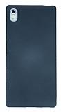 Eiroo Ultra Thin Sony Xperia Z5 Dark Silver Silikon Kılıf