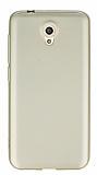 Vodafone Smart 7 Mat Gold Silikon Kılıf