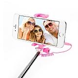 Eiroo Universal Açık Pembe Selfie Çubuğu