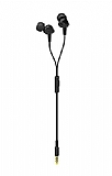 Eiroo Universal Siyah Mikrofonlu Kulaklık