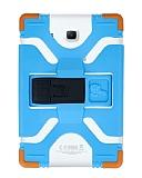 Eiroo Universal Standlı Silikon Tablet Mavi Kılıfı 10 inç