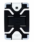 Eiroo Universal Standlı Silikon Tablet Siyah Kılıfı 6.8-8 inç