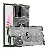 Eiroo Wlons Samsung Galaxy Note 20 Ultra Süper Koruma Yeşil Kılıf