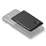 Elago Card Pocket Silikon Siyah Telefon Kartlığı