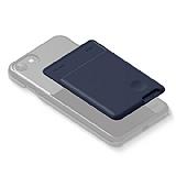 Elago Card Pocket Silikon Lacivert Telefon Kartlığı