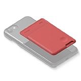 Elago Card Pocket Silikon Kırmızı Telefon Kartlığı