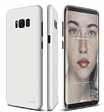 Elago Inner Core Samsung Galaxy S8 Beyaz Rubber Kılıf