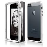Elago iPhone 5 / 5S S5 Beyaz Bumper K�l�f