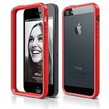 Elago iPhone 5 / 5S S5 K�rm�z� Bumper K�l�f