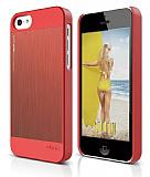 Elago iPhone 5C OutFit Matrix Series Kırmızı Rubber Kılıf
