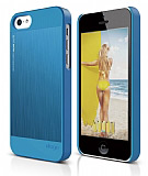 Elago iPhone 5C OutFit Matrix Series Mavi Rubber Kılıf