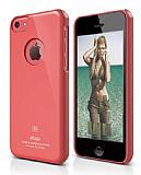 Elago iPhone 5C Slim Fit Series Kırmızı Rubber Kılıf