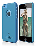 Elago iPhone 5C Slim Fit Series Mavi Rubber Kılıf
