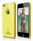 Elago iPhone 5C Slim Fit Series Sarı Rubber Kılıf