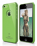 Elago iPhone 5C Slim Fit Series Yeşil Rubber Kılıf