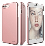 Elago Slim Fit iPhone 7 Plus / 8 Plus Rose Gold Rubber Kılıf
