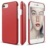 Elago Slim Fit iPhone 7 Kırmızı Rubber Kılıf