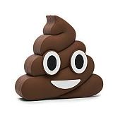 Emoji 2600 mAh Powerbank Kahverengi Yedek Batarya