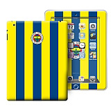 Fenerbahçe iPad 2-3-4 Efsane Çubuklu Lisanslı Sticker