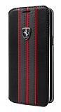 Ferrari Samsung Galaxy S8 Plus Kapaklı Gerçek Deri Kılıf