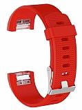 Fitbit Charge 2 Kırmızı Silikon Kordon