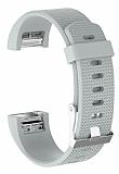 Fitbit Charge 2 Beyaz Silikon Kordon