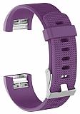 Fitbit Charge 2 Mor Silikon Kordon