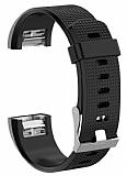 Fitbit Charge 2 Siyah Silikon Kordon