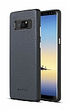 G-Case Duke Series Samsung Galaxy Note 8 Metal Tuşlu Lacivert Deri Kılıf
