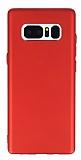 G-Case Elegant Samsung Galaxy Note 8 Kamera Korumalı Kırmızı Silikon Kılıf