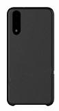 G-Case Huawei P20 Deri Siyah Rubber Kılıf
