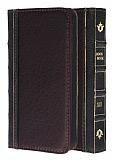 Eiroo Book iPhone 5 / 5S C�zdanl� Yan Kapakl� Kahverengi Deri K�l�f