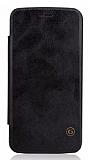 G-Case LG G5 Cüzdanlı İnce Yan Kapaklı Siyah Deri Kılıf