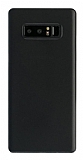 G-Case Couleur Samsung Galaxy Note 8 Ultra İnce Şeffaf Siyah Rubber Kılıf