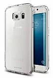 G-Case Samsung Galaxy S6 edge Ultra İnce Şeffaf Silikon Kılıf