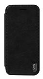 XO Samsung Galaxy S8 Plus Cüzdanlı İnce Yan Kapaklı Siyah Deri Kılıf