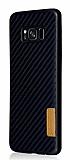 G-Case Samsung Galaxy S8 Plus Karbon Fiber Siyah Rubber Kılıf