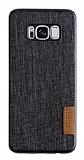 G-Case Samsung Galaxy S8 Plus Kumaş Görünümlü Rubber Kılıf