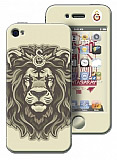 Galatasaray iPhone 4 / 4S Arslan Lisansl� Sticker