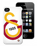 Galatasaray iPhone 4/4S Y�l 1905 Lisansl� Rubber K�l�f