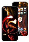 Galatasaray iPhone 5 / 5S Alevli Lisansl� Sticker